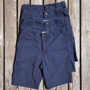 12 Gymboree Navy Flat Front School Uniform Shorts